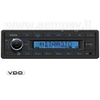 Radio lettore VDO con RDS - MP3 - USB
