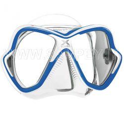 Maschera Sub X-Vision Mares Trasparente - Blu / Bianca