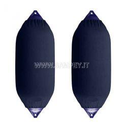 Copriparabordi Copriparabordo F4 Blu 2 pezzi barca nautica