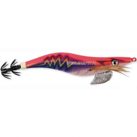 Totanare Tuono Thunder squid jig col. Pink/blue mis. 3.0 - 3.5