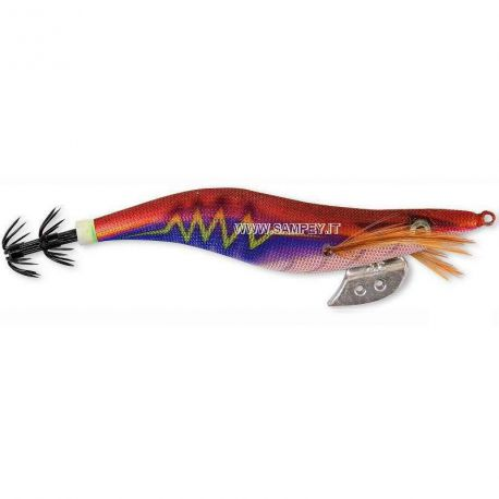 Totanare Tuono Thunder squid jig col. Orange/blue mis. 3.0 - 3.5
