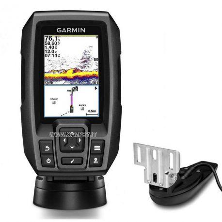 Garmin Ecoscandaglio + GPS Striker 4 Trasduttore Doppia Frequenza