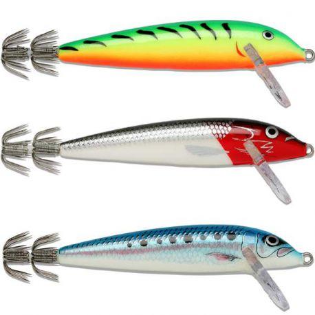 3X Totanare Rapala Artificiali Traina Calamari Squid 11 cm
