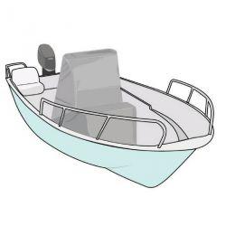 Telo copri consolle barca XL