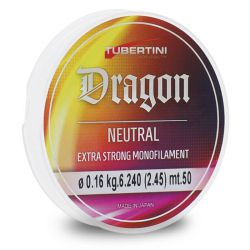 Filo Tubertini Dragon Neutral 50 metri dal 0.08 al 0.25 mm