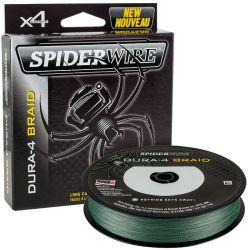 Filo Trecciato Multifibra Dura 4 Green Spiderwire 300 mt dal 0.10 al 0.40 mm