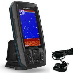 """Ecoscandaglio Gps Garmin Striker Plus 4, Display 4,3"""" + Trasduttore"""