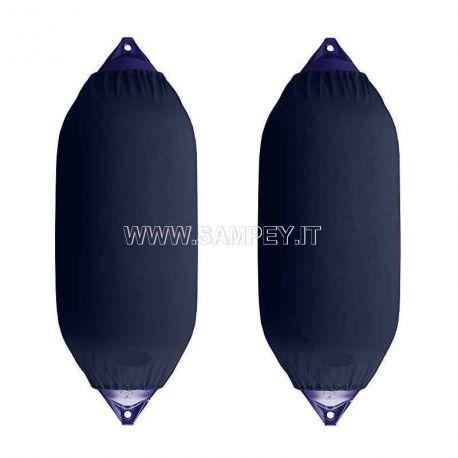 Copriparabordi F5 Blu 2 pezzi barca nautica (misura 31 x 76 cm)