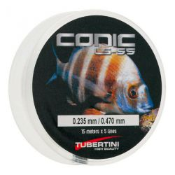 Filo Conico Tubertini  LS-55  Shock Leader