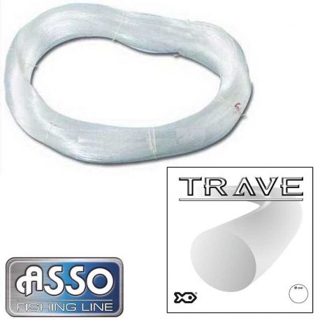 Matasse Nylon Palamito Asso Trave 0.70 mm 2280 mt 1 Kg