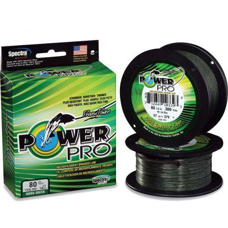 Multifibra Pesca Shimano Power Pro 0,56 mm 75 kg 165 lb Moss Green