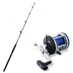 Kit Traina Canna Bluefin 12/30+ Mulinello Trecciato BT300