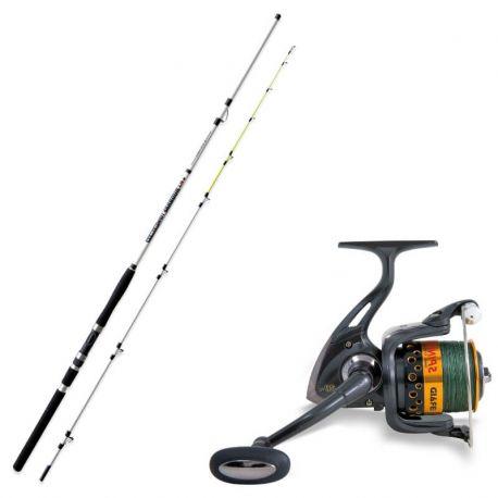 Home   NEGOZIO PESCA ONLINE Kit Pesca Set Combo Kit Pesca Barca Traina  Bolentino cd8fade706b9