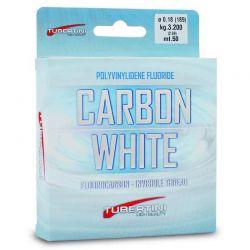 Filo Pesca Fluorocarbon Tubertini Carbon White