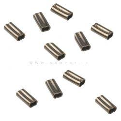 10  Pezzi Copper Sleeves Salvimar Ø 1,6 mm