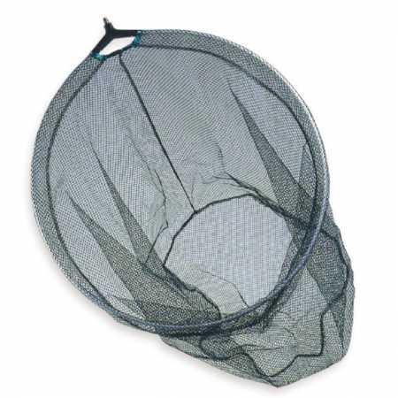 Testa per guadino pesca 60 cm ovale maglia 6 mm