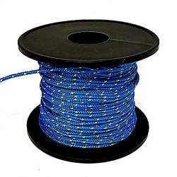 Bobine Corda Treccia Dyneema 1 mm 40 metri Blu Arbalete Fucile Sub