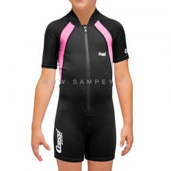 Cressi Kids shorty wetsuit Fuxia