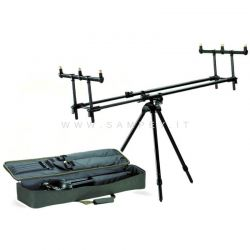 Rod Pod Carpfishing  Behr In Alluminio De Luxe
