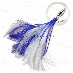 Williamson  Flash Feather Rigged Piuma 10 cm