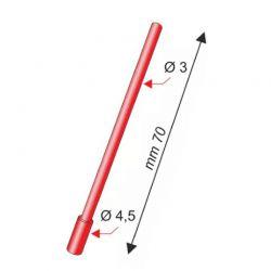 20 Aste per galleggianti Doppio Diametro 4.5 - 3.0 mm Stonfo