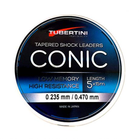 Filo Conico Tubertini LS-55 0.235/0.470 Shock Leader