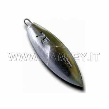 Piombo Pesca Surfcasting Tommy anello 50 75 100 grammi