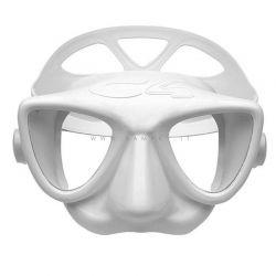Maschera C4 Carbon Plasma Bianca Apnea