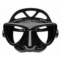 Maschera C4 Carbon Plasma Nera Apnea