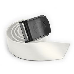 Cintura Fibbia Nylon C4 Bianca