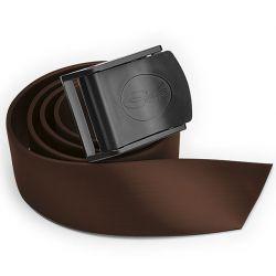 Cintura Sub C4 Carbon Silicone Fibbia Nylon Marrone