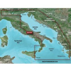 Garmin Bluechart G3 Vision Maps HXEU014R - Italy, Adriatic Sea
