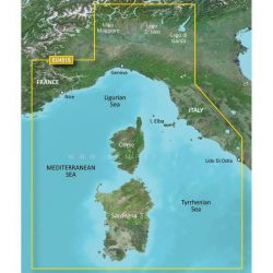 Garmin Bluechart G3 Vision Maps VEU451S-Ligurian Sea, Corsica Sardinia