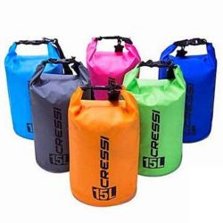 Cressi Dry Bag Sacca Zaino Impermeabile