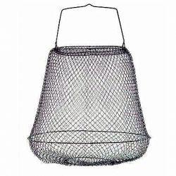Porta Pesci Cestello metallico senza collo diametro 30 cm