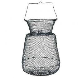 Porta Pesci Cestello metallico con collo diametro 30 cm