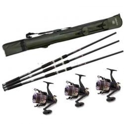 Top Carp Full Carpfishing Combo completo per la Pesca alla Carpa
