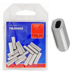 Manicotti Serraggio Alluminio Tubertini Tb 204 As Crimps