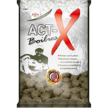 Boiles Carpa Act-X Z Vaniglia 800 gr 20 mm