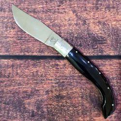 Coltello Mascu Arburesa lunghezza 23 cm lama 10 cm Corno Nero