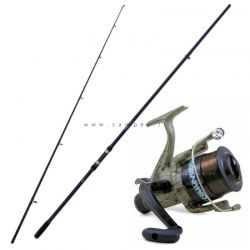 Kit Carpfishing XTR Carp Rod Mt. 3,60 Lb. 3 + Commando 6000