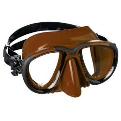Maschera Sub Mares Tana Brown Marrone