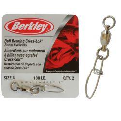 Girelle Pesca Berkley McMahon Ball Bearing Swivels da 25 a 275 LBS