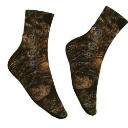 Calzari Mares Illusion Brown 3.0 mm Socks Illusion BWN 30