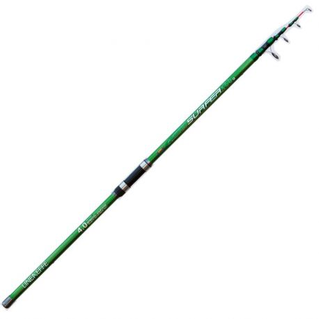 Canna Lineaeffe Surfcasting Green Surfer 4,00 mt 165 gr