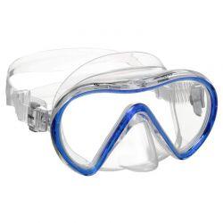 Maschera Mares Vento Trasparente Blu