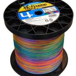 Trecciato Shimano Kairiki 4 Multicolor da 100 a 3000 mt 0.28 mm 26.0 kg