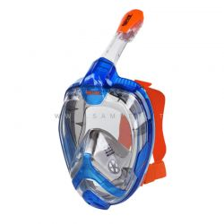 Seac Maschera Granfacciale Magica L/XL Uomo Siltra Blu Arancio