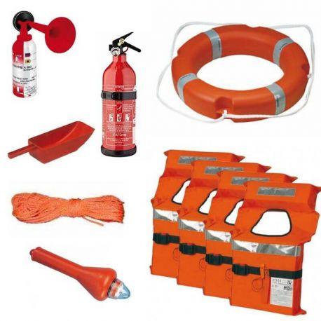 Kit Dotazioni Bordo Barca Sicurezza Entro 12 Miglia No Razzi