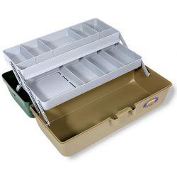 Cassetta valigetta pesca 2 piani Piccola